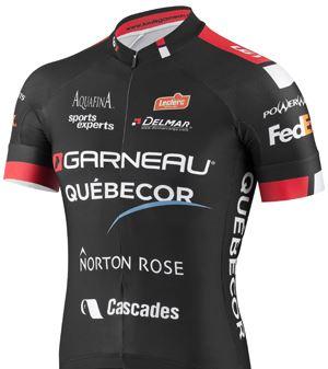 Equipe Garneau - Quebecor 2013 shirt