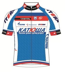 Itera - Katusha 2013 shirt