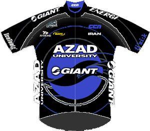 Azad University Giant Team 2013 shirt