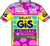 Gis Gelati - Benotto 1990 shirt