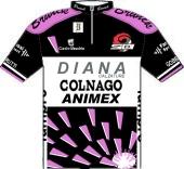 Diana - Colnago - Animex 1990 shirt
