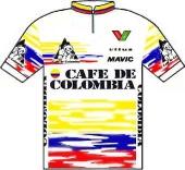 Café de Colombia 1990 shirt
