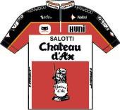 Château D'Ax - Salotti - Huni - Diadora 1990 shirt