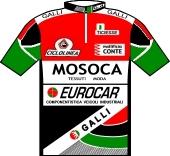 Mosoca - Galli - Eurocar 1990 shirt
