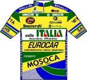 Selle Italia - Eurocar - Mosoca - Galli 1990 shirt