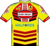 Ever Ready - Halfords 1990 shirt