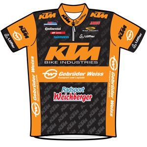 Arbö KTM - Gebrüder Weiss 2010 shirt