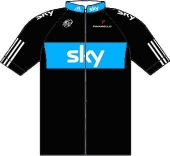 Sky Professional Cycling Team 2010 shirt