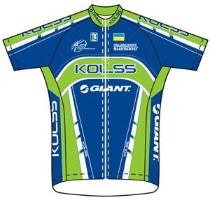 Kolss Cycling Team 2010 shirt