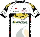 Topsport Vlaanderen - Mercator 2010 shirt
