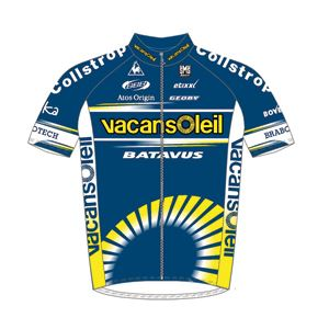 Vacansoleil Pro Cycling Team 2010 shirt
