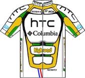 Team HTC - Columbia 2010 shirt