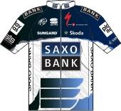 Team Saxo Bank 2010 shirt