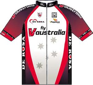 Fly V Australia 2010 shirt