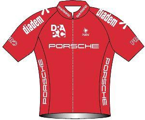 Drapac Porsche Cycling 2010 shirt