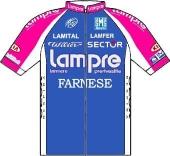 Lampre - Farnese Vini 2010 shirt