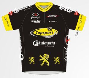 Jong Vlaanderen - Bauknecht 2010 shirt