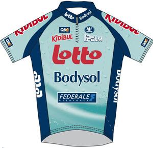 Lotto - Bodysol 2010 shirt