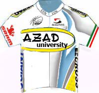 Azad University Iran 2010 shirt