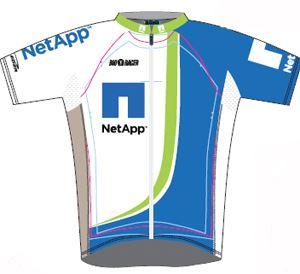Team NetAPP 2010 shirt