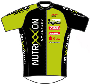 Team Nutrixxion Sparkasse 2010 shirt