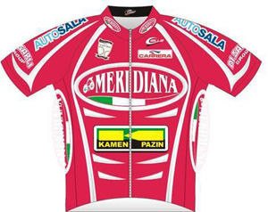 Meridiana - Kamen Team 2010 shirt
