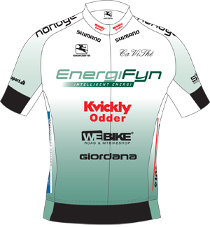 Team Energi Fyn 2010 shirt