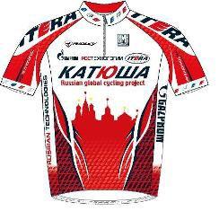 Itera - Katusha 2010 shirt