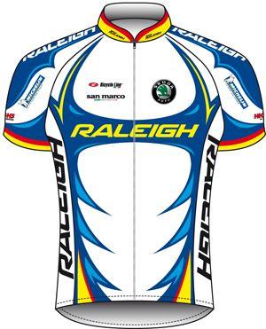 Team Raleigh 2010 shirt