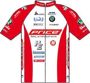 Price - Custom Bikes 2010 shirt