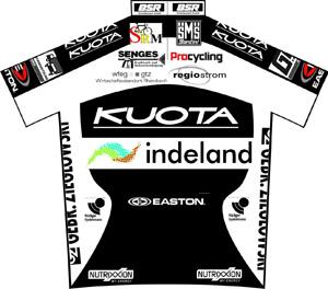 Team Kuota - Indeland 2010 shirt