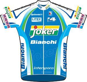 Joker Bianchi 2010 shirt