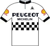 Peugeot - Shell - Michelin 1982 shirt