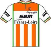 Sem - France-Loire - Campagnolo 1982 shirt