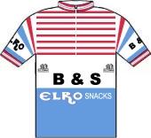 B & S Wegenbouw - Elro Snacks 1982 shirt