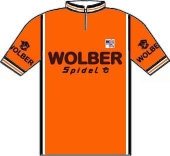 Wolber - Spidel 1982 shirt