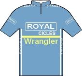 Royal - Wrangler - Oliver Tex 1982 shirt