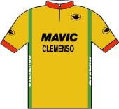 Clemenso - Mavic - Nord Rhein Elektro 1982 shirt