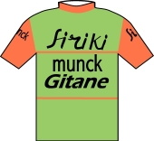 Siriki - Munck - Gitane 1972 shirt
