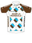 Ag2r La Mondiale 2015 shirt
