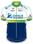 Orica GreenEdge 2015 shirt