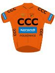 CCC Sprandi Polkowice 2015 shirt