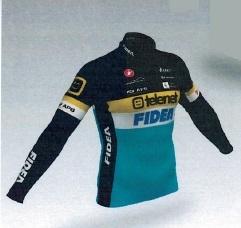 Telenet - Fidea Cycling Team 2015 shirt