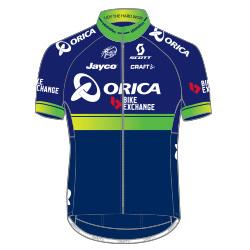 Orica - Bikeexchange 2016 shirt