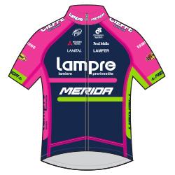 Lampre - Merida 2016 shirt