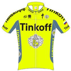 Tinkoff 2016 shirt