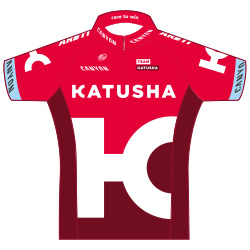 Team Katusha 2016 shirt