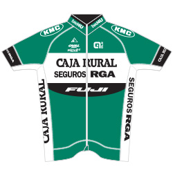 Caja Rural - Seguros RGA 2016 shirt