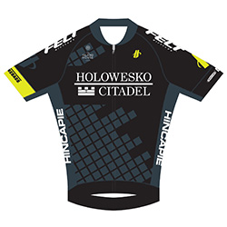 Holowesko - Citadel p/b Hincapie Sportswear 2016 shirt