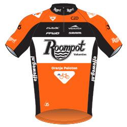 Roompot - Oranje Peloton 2016 shirt
